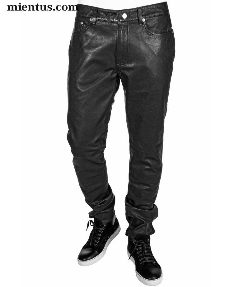BLK DNM Leather Pants 25 / www.mientus.com
