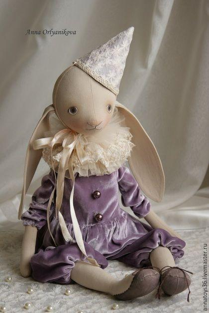 bonecos colecionáveis artesanais.  Marshmallow e Jem.  Anna Orlyanikova.  Mestres justas.  Boneca interior, circo, mulheres, papel machê
