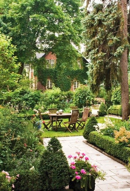 2676 best Garden: Modern Country images on Pinterest | Small gardens Garden Design Outdoor Dining P E A on