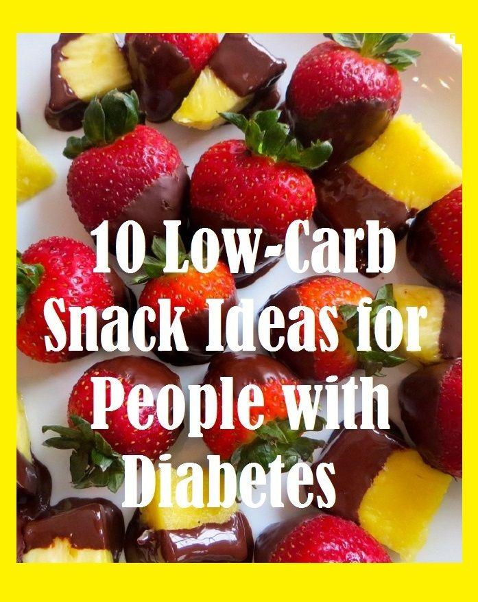 Sweet snack recipes for diabetics