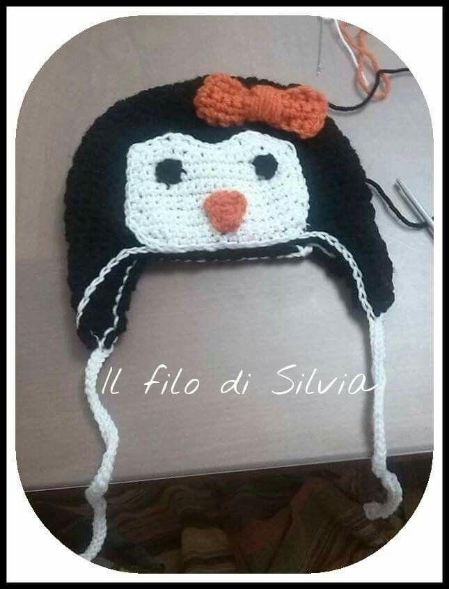 Cappello pinguino
