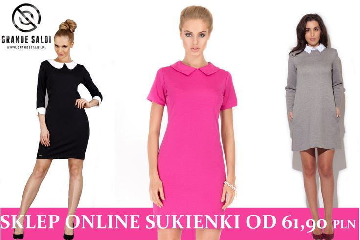 Szukasz sukienki na co dzień. Wiemy, co się nosi i co się podoba naszym klientkom. WWW. grandesaldi.pl czeka na Ciebie.