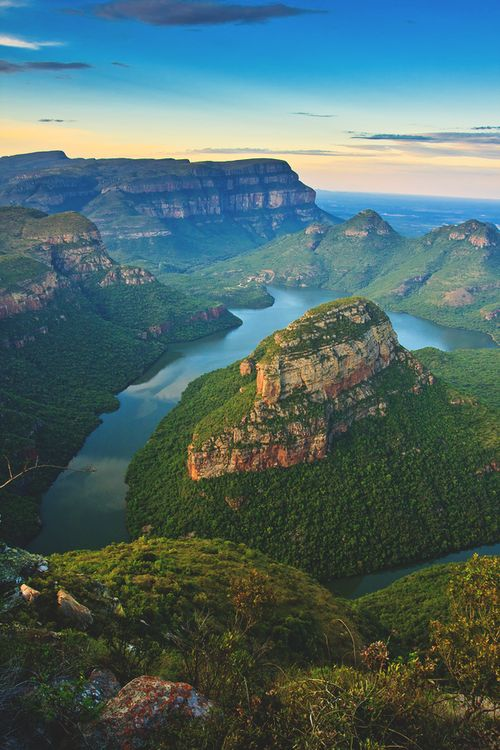 Blyde River Canyon, South Africa | Leon Jacob #landscape #scene #photography