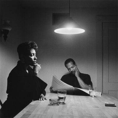 Image from the Kitchen Table series: Carrie Mae Weems