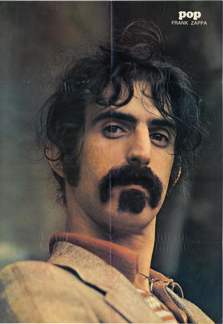 Frank Zappa--met him and kissed him!