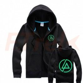 Linkin Park Printed Lp On Chest Hoodie