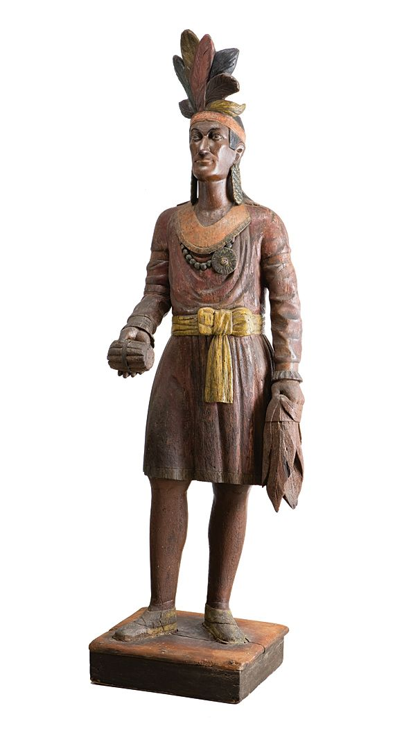 Antiques & Fine Art - Hill Gallery - Cigar Store Indian