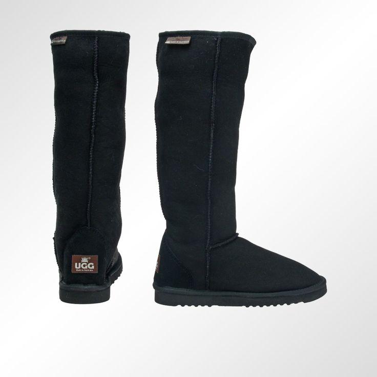 Classic Ultra Tall Ugg Boot in Black