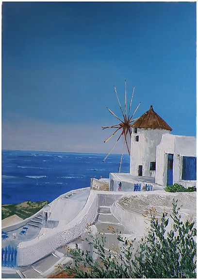 Mill - Santorini