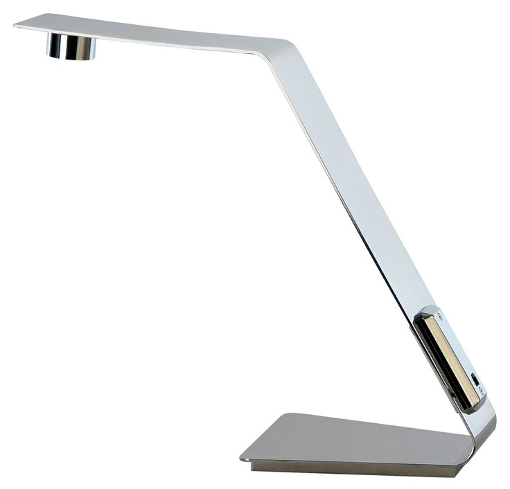 151 mejores imgenes de contemporary modern desk lamps en table lamp fixture shown in polished stainless steel from the edgy collection by trend lighting aloadofball Images