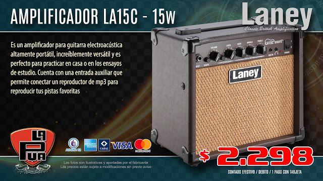 La Púa San Miguel: Amplificador para guitarra electroacústica LANEY L...