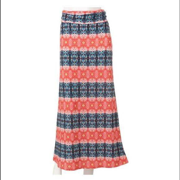 Kohls juniors maxi skirt Maxi skirt Skirts Maxi