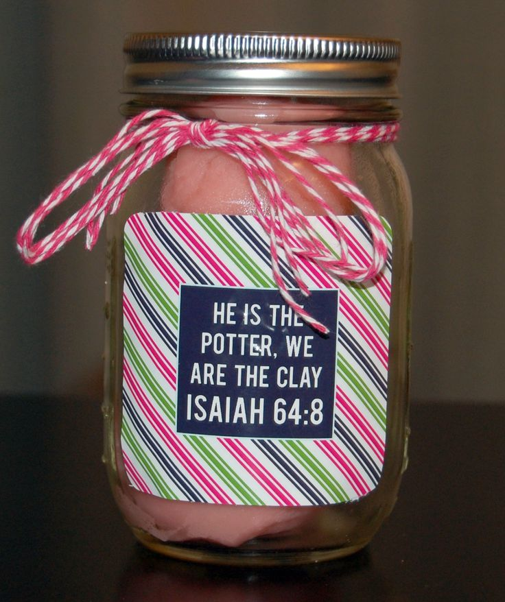 Great Christian gift printable labels from Detail-Oriented Diva!