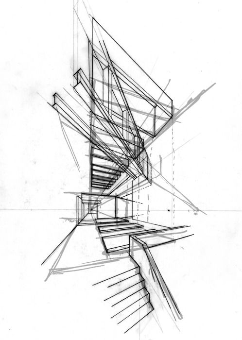25 best ideas about architectural sketches on pinterest for Simple architectural drawing software