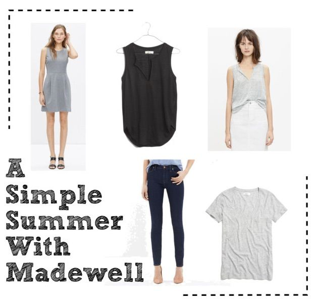 Recently I ordered a few items off of Madewell's website. I've always worn J Crew clothing and wanted to try out Madewell since I don't have the luxury of having a store near me.