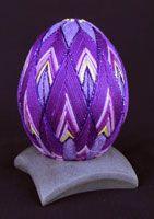 Purple Egg Temari