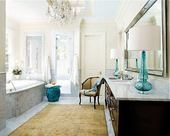 Best 25+ Feminine bathroom ideas on Pinterest   Master bath, Pink bathrooms  and Shower tile patterns