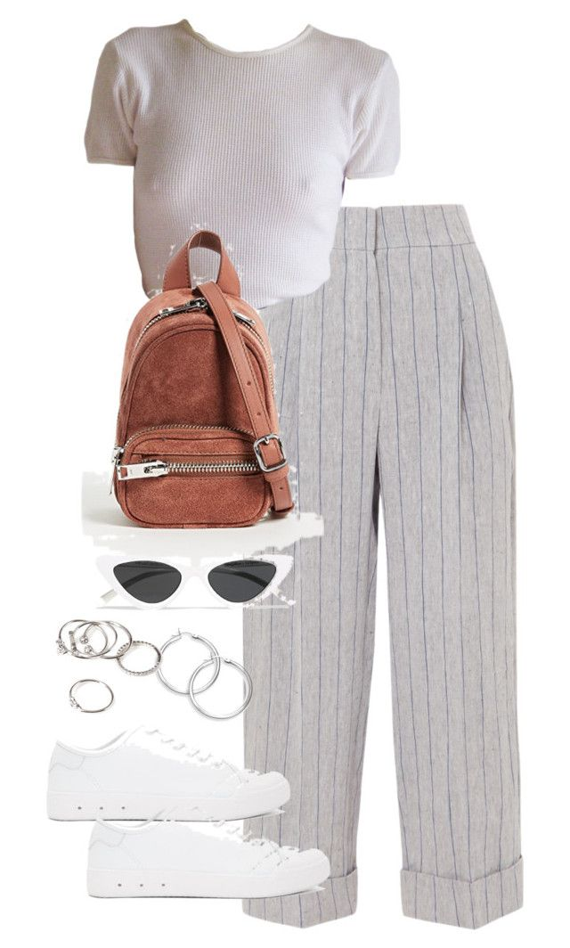 """""""Untitled #5322"""" by theeuropeancloset on Polyvore featuring Brunello Cucinelli, rag & bone, Alexander Wang, Le Specs and Forever 21"""