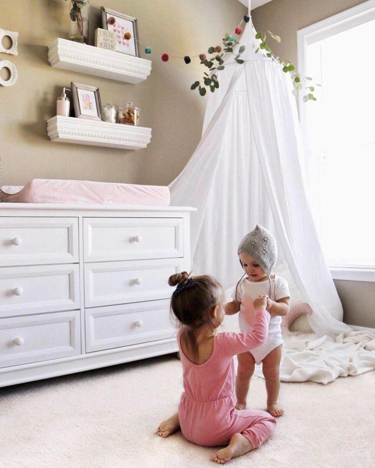 Crib Canopy, Kids canopy, Nursery canopy, white Crib canopy, bed canopies,  Play room canopy, white canopy, gray canopy, playroom decor by BabyKlara on Etsy https://www.etsy.com/listing/499873256/crib-canopy-kids-canopy-nursery-canopy