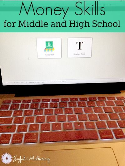 A Simple Money Management Tool for Middle School and High School