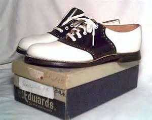 1950s Saddle Shoes - nothing like a new pair.