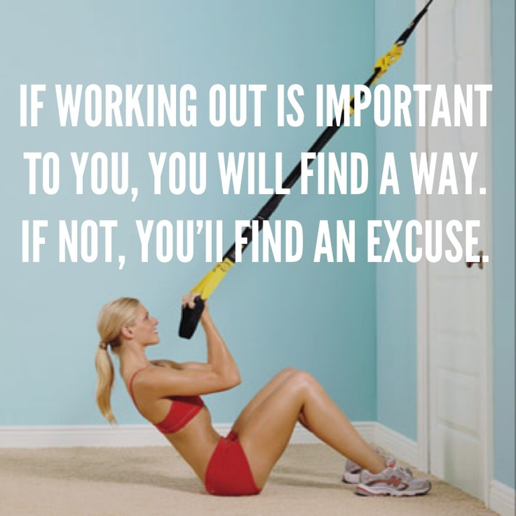 41 best trx images on pinterest exercise workouts exercises and if working out is important to you then you will find a way if fandeluxe Image collections