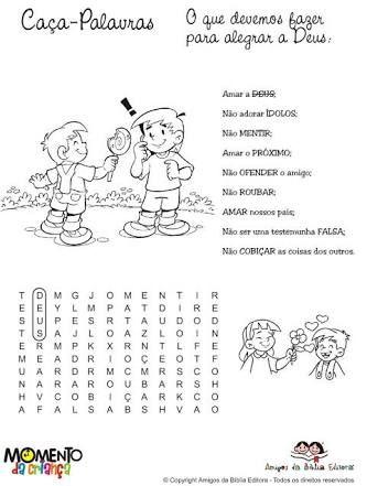 atividades bíblicas para culto infantil - Pesquisa Google …