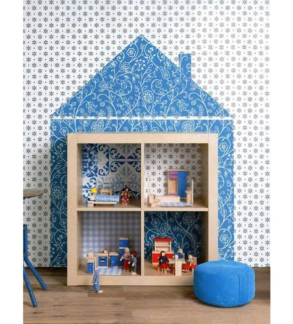 8 best maison poup e images on pinterest doll houses dollhouses and child room. Black Bedroom Furniture Sets. Home Design Ideas