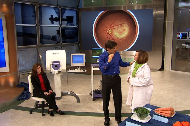 Dr. Oz Goes Inside the Eye with the Optomap Retinal scan