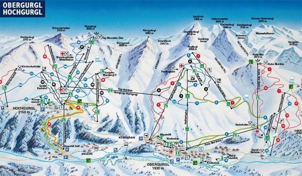 Early season skiing