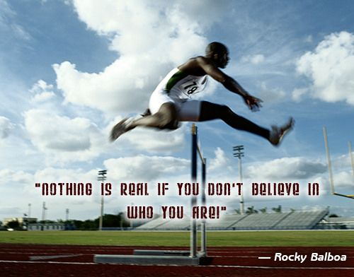 'Nothing is REAL if you don't believe in who you are'