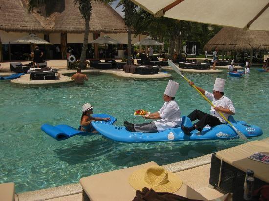 Secrets Maroma Beach Riviera Cancun Wait Service In Pools Playa Del Carmen 2018 Travel