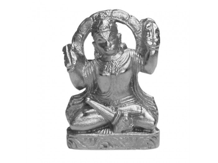 VedicVaani.com | Parad hanuman murti online from India to USA/UK at fair rates. Lord Hanuman made of pure solidified mercury (Parad). Parad Hanuman is very effective in removal of hurdles and miseries of life.