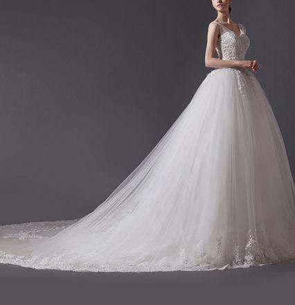 Wedding Dress MELISSA Sisi Stil Kauf/Verleih - AmourElle