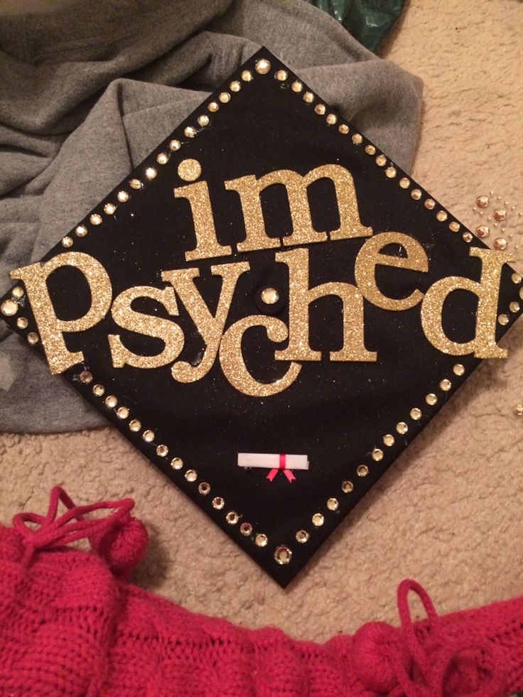 Grad cap for psychology majors