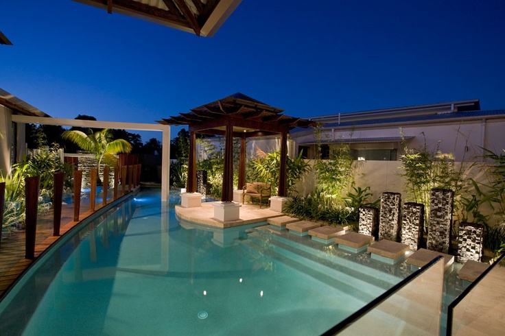Australia's best pool 2010 by Chris Clout Design