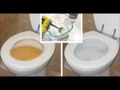 ¡Increíble! Deja tu inodoro limpio en sólo 10 segundos con este truco - YouTube