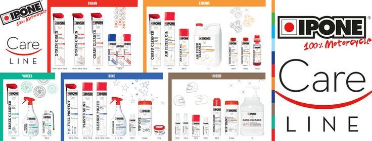 IPONE - CARELINE    Descubra o que há de novo em todos os produtos da IPONE, com a Lusomotos. Conheça a nova gama, os novos produtos e a nova imagem! Fique ainda a par das Equivalências dos novos produtos (em relação aos antigos produtos da marca) e as Fichas de cada produto. Seja qual for o lubrificante que precisar, a Lusomotos tem! Confira hoje mesmo. #lusomotos #óleo #lubrificantes #sprays #road #offroad #ipone #careline #novagama #novalinhadeprodutos #moto #estilodevida
