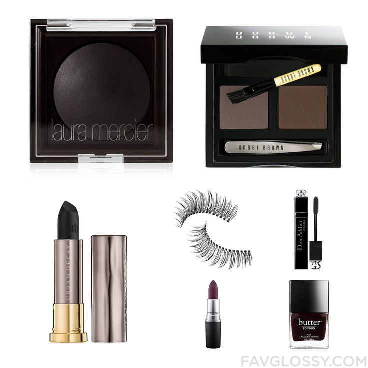 Beauty Trick With Laura Mercier Eyeshadow Eyebrow Kit Urban Decay Lipstick And Trish Mcevoy From September 2016 #beauty #makeup