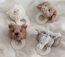 Newborn Baby Gifts | Pottery Barn Kids - plush teether
