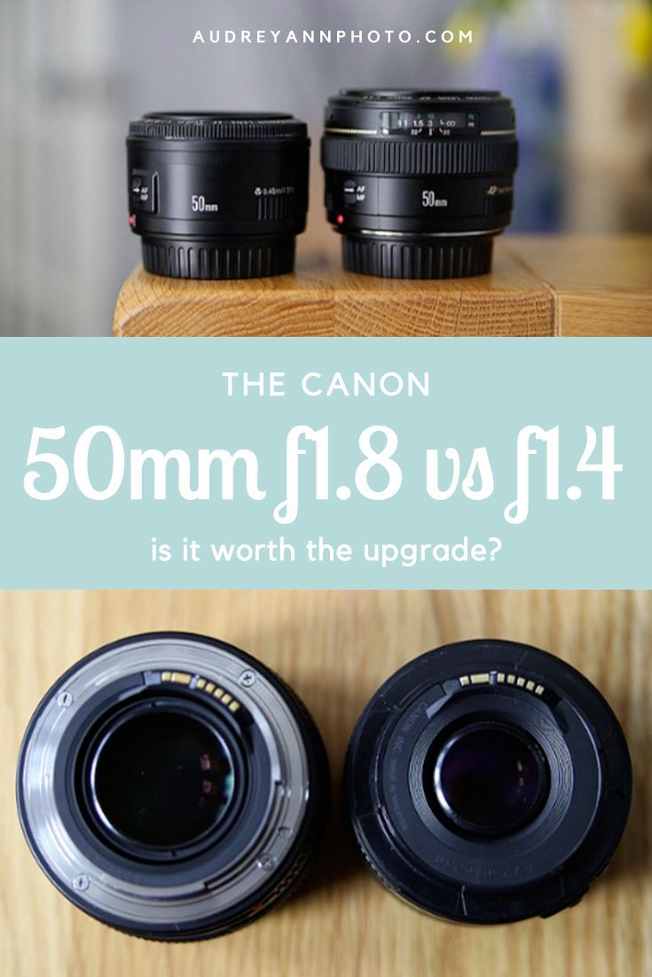 Many people will have the Canon 50mm F1.8 and wondered whether it was worth the upgrade to the more expensive F1.4 version? Here's my side by side comparison of them both.