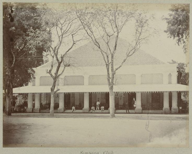 De Simpang Club in Soerabaja