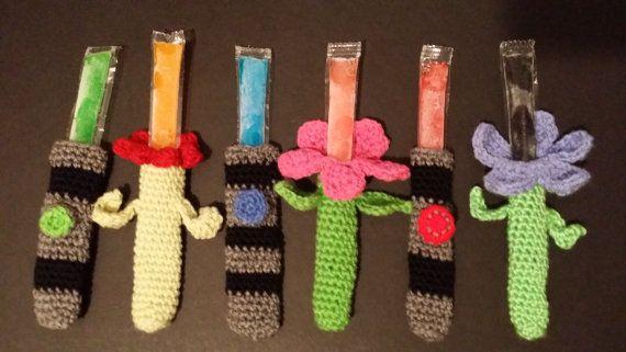 Star Wars and Flower Power Ice Pop Holders by LittleDebiSnack