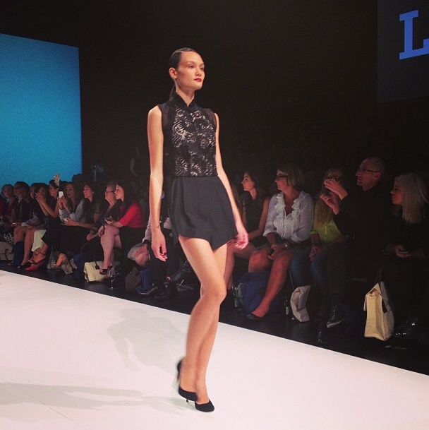 Day Two: We love a little lace #Lover @David Jones Store #lmffnow @lover_thelabel