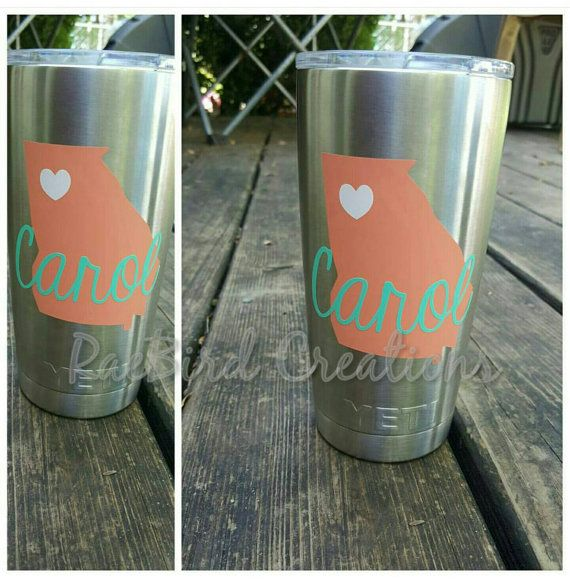 Best Yeti Cup Crazy Images On Pinterest Yeti Cup Yeti - Custom stickers for yeti cups