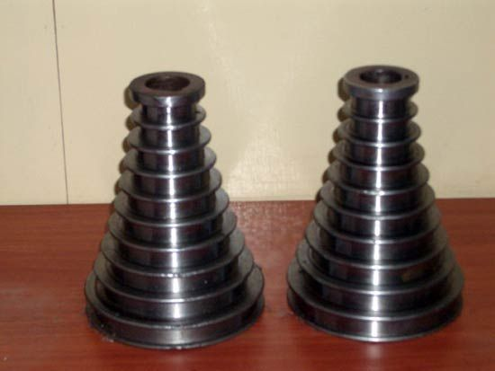 Tel çekme sektöründe kullanılanHVOF yöntemi ile  tungsten karbür veya krom karbür kaplanmış konik tel çekme makarası https://www.yuzeymuhendislikkaplama.com/