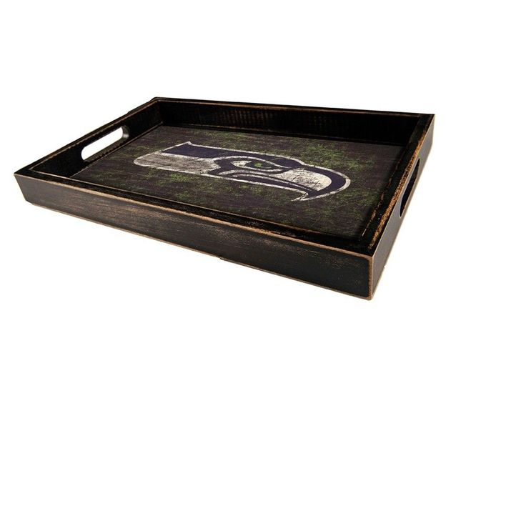 NFL Seattle Seahawks Distressed Team Name Tray