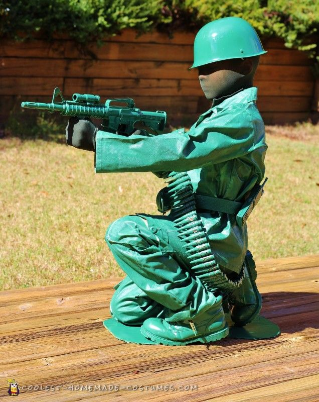 toy army man costume for a boy - Boys Army Halloween Costumes