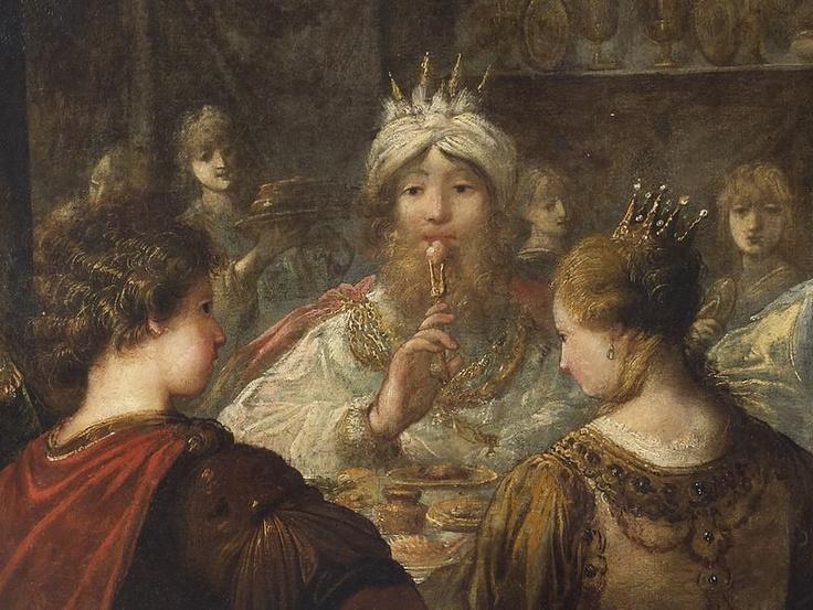 Lot de vente aux enchères : Claude VIGNON (1593-1670) - LE BANQUET CHEZ MÉNÉLAS - Delvaux - Auction