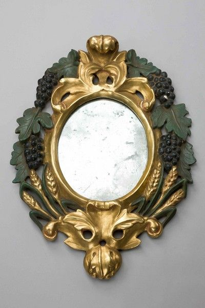 Pair of Late 19th Century Italian Mirrors (Ref No. 6210) - Windsor House Antiques